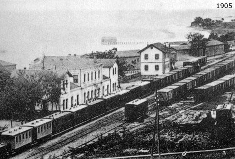 Demiryolları 1905