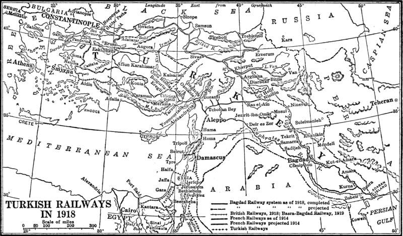 1918 demiryolları