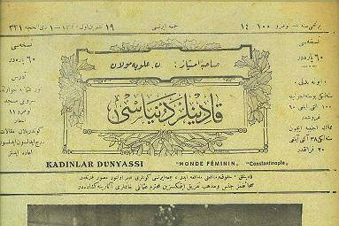 ilk türkçe Kadın Dergisi