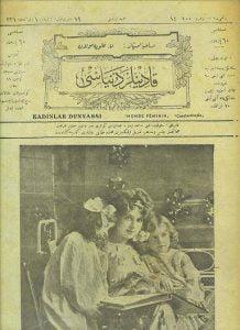 ilk kadın dergisi