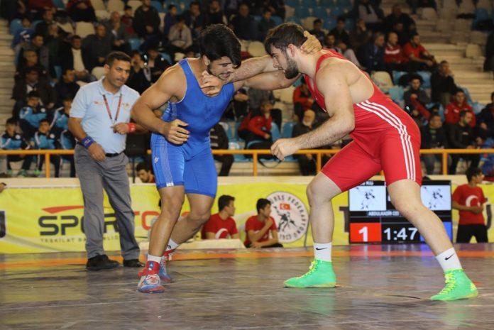 Büyük erkekler grekoromen Türkiye şampiyonası