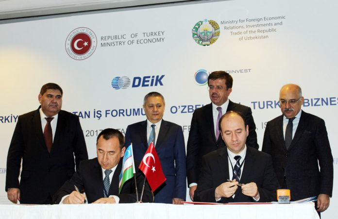 Türkiye ile Özbekistan arasında 10 ayrı alanda işbirliği