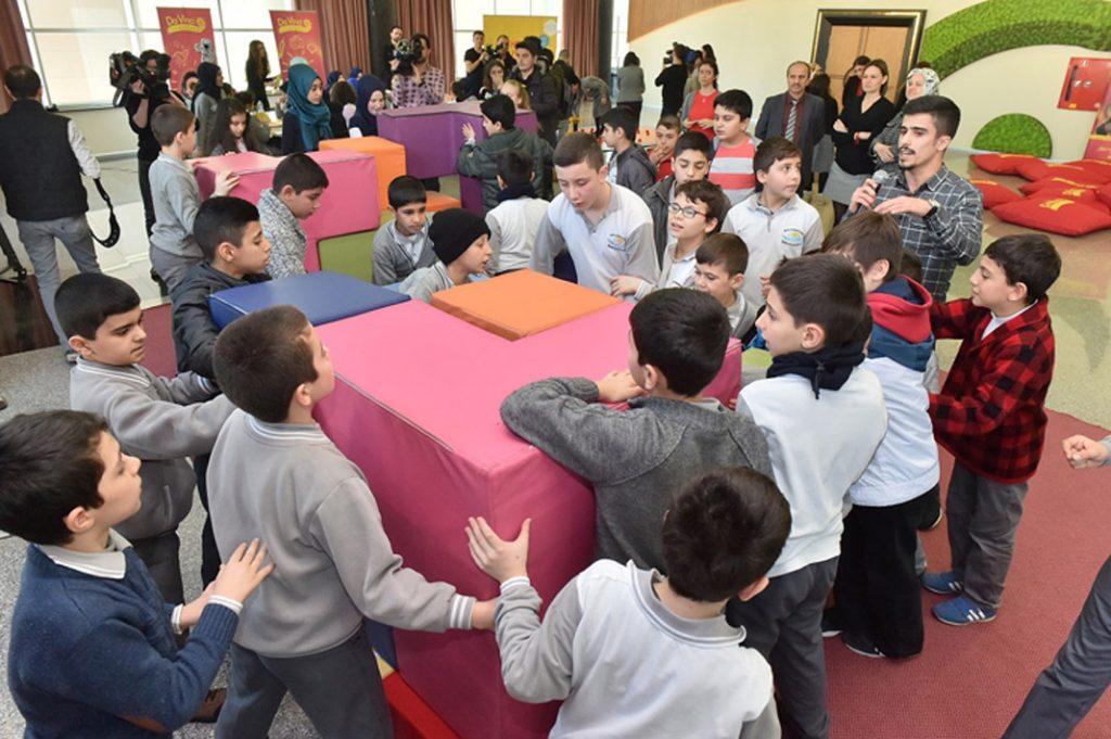 Harika matematik Sultangazi'de çocuklarla buluştu 4