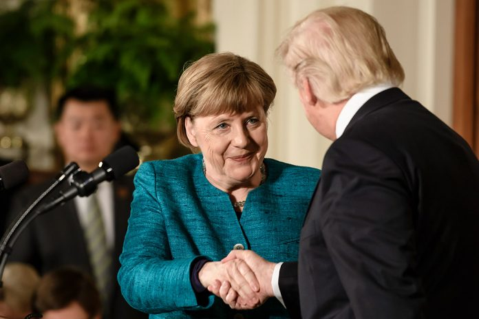 Donald Trump- Angela Merkel